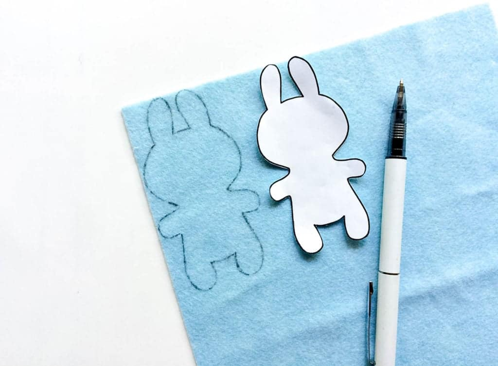 how to make a bunny plushie