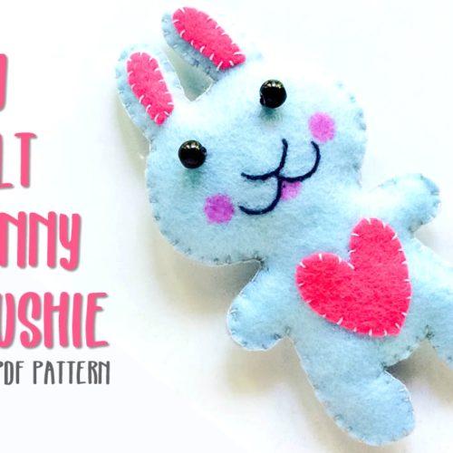 diy bunny plushie free pattern