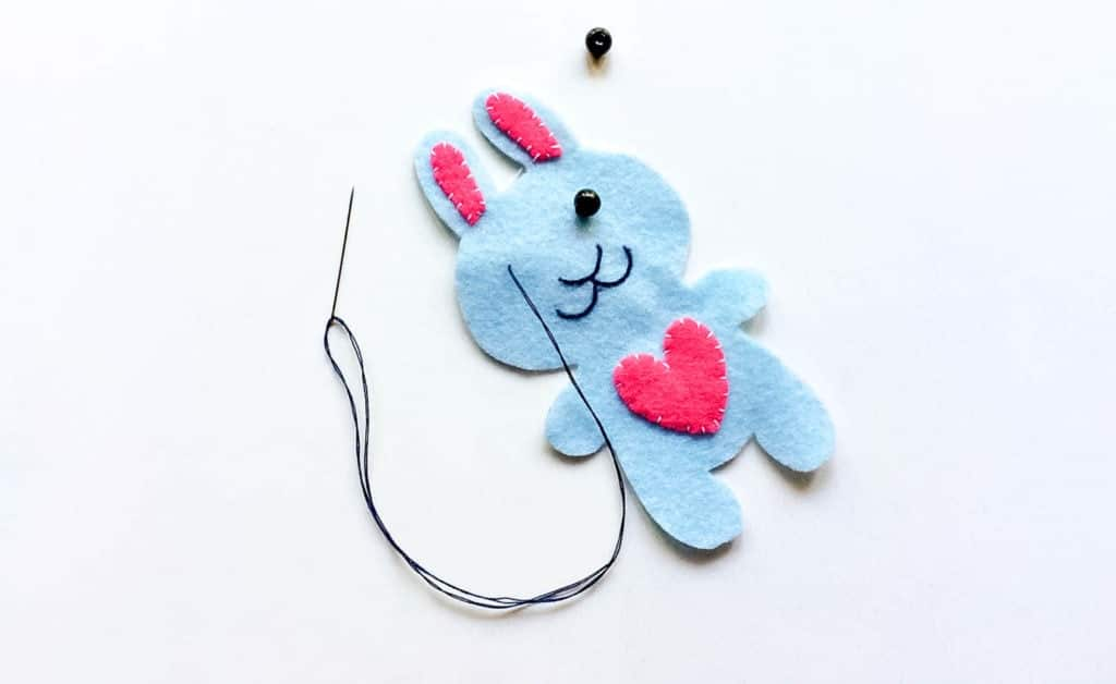 Easy Felt Bunny Plushie