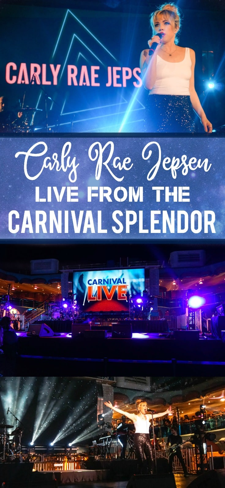 Carly Rae Jepsen Live from the Carnival Splendor Lido Deck