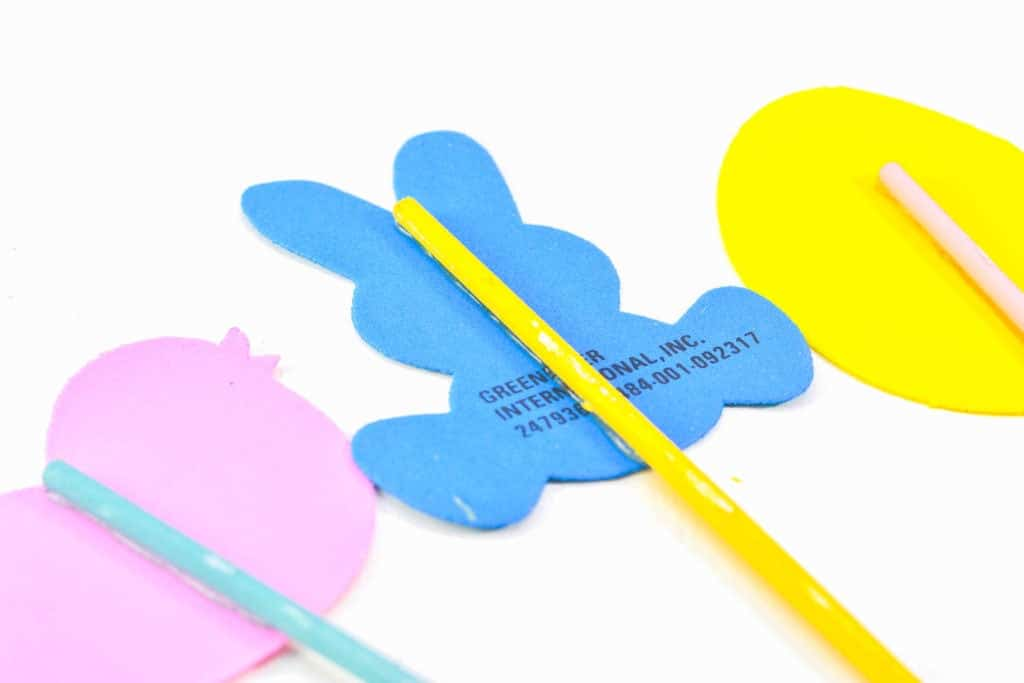 spring easter wand craft