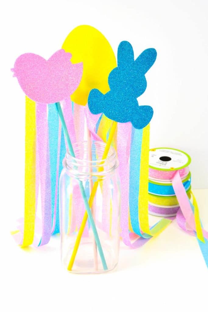 DIY Easter Wands | Dollar Store Craft