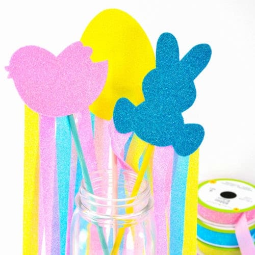 DIY Easter Wands Dollar Store Craft