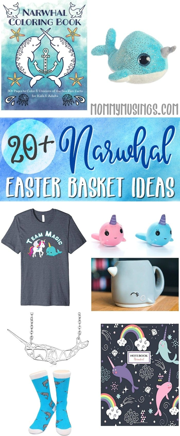 Narwhals Easter Basket Stuffer Ideas