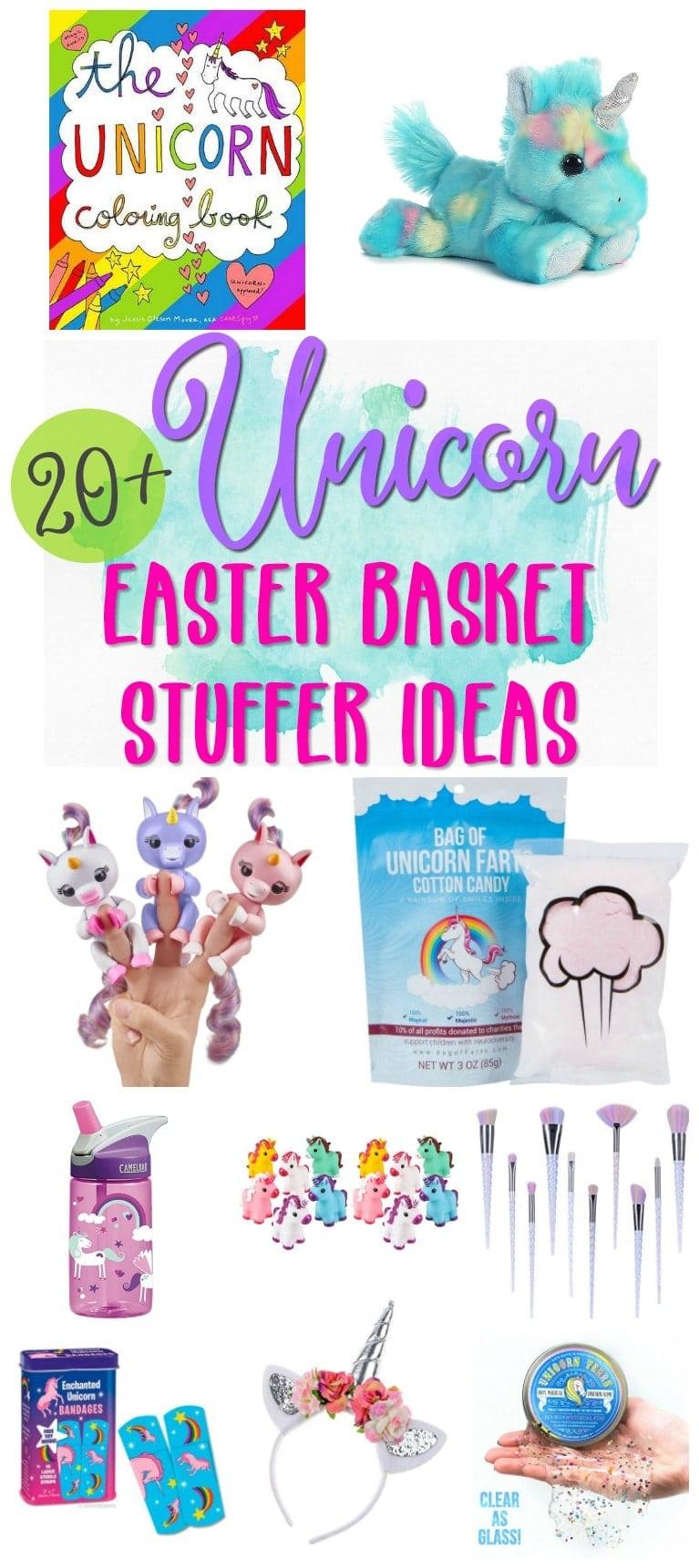 20 unicorn easter basket stuffer ideas negle Images