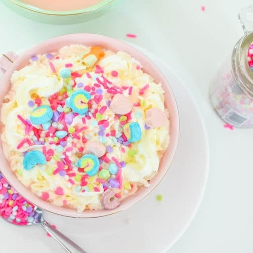 pink unicorn hot chocolate recipe