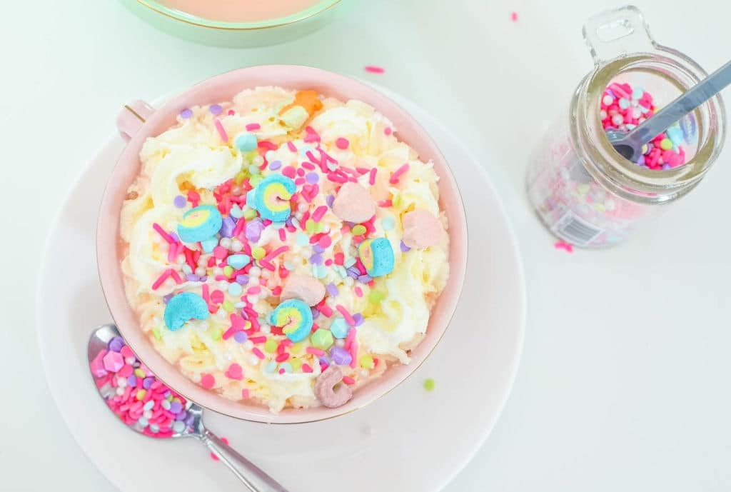 pink unicorn hot chocolate recipe