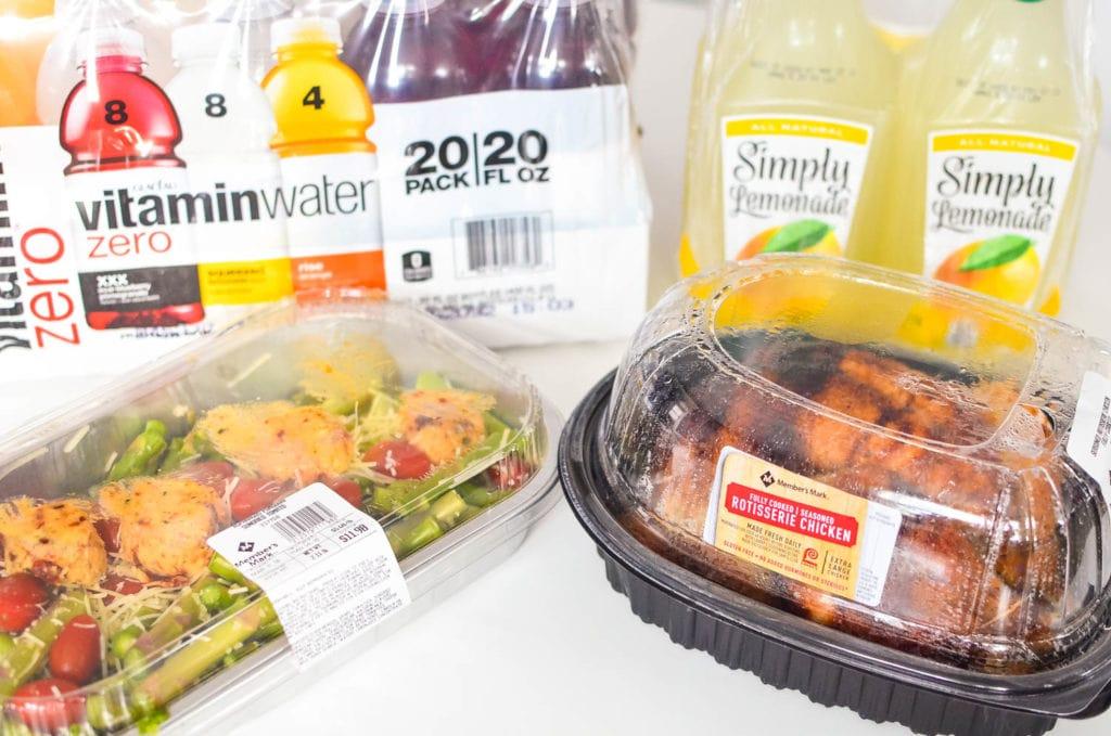 sam's club meals