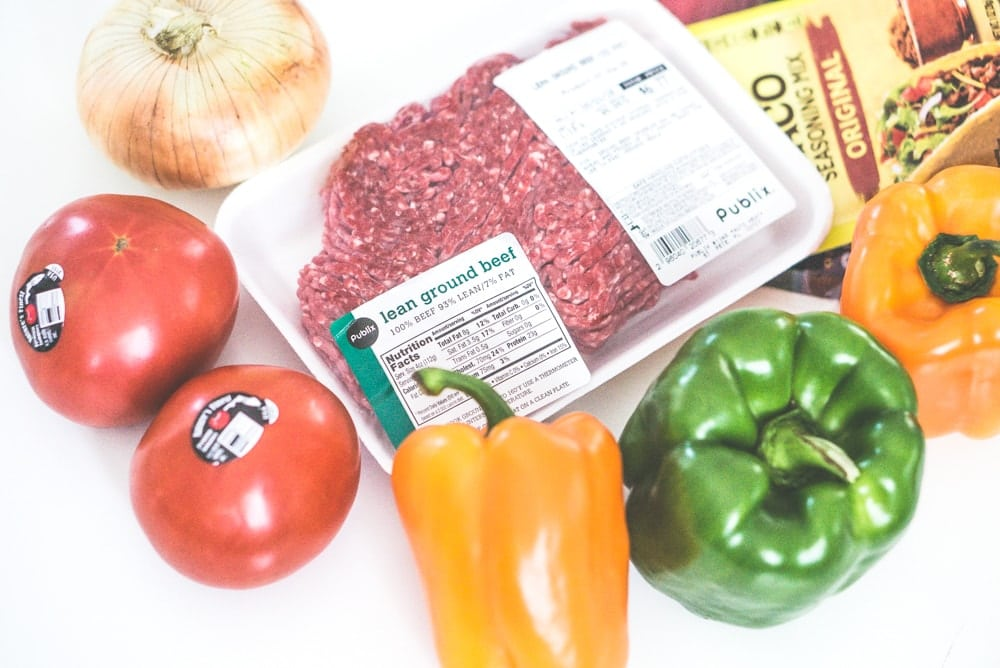taco stuffed peppers ingredients