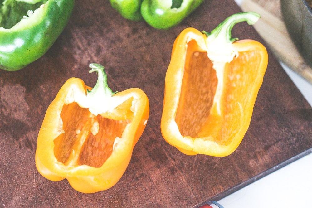 ground beef stuffed bell peppers recipe