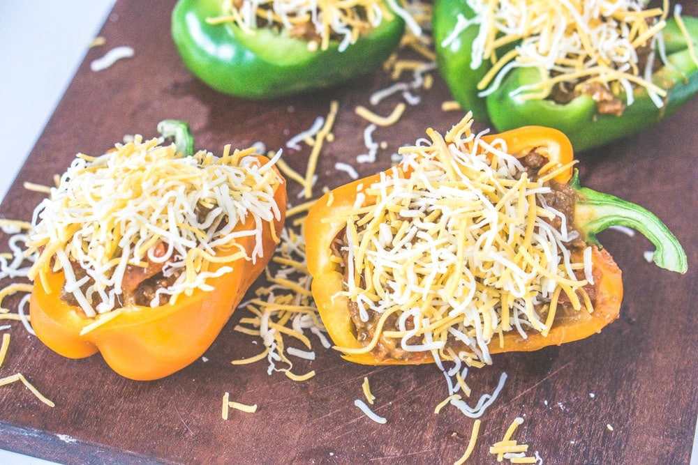 mexican taco stuffed bell peppers