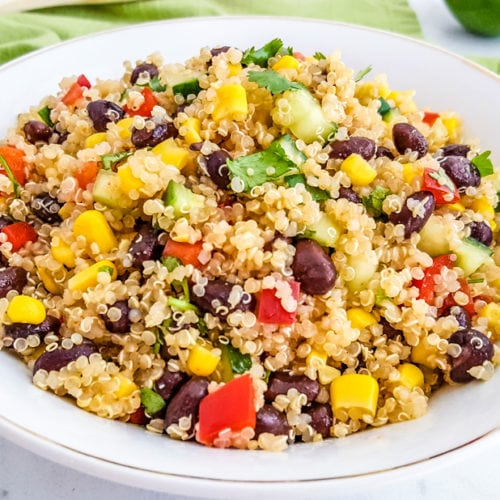 Southwest Quinoa Salad - An Easy Quinoa Salad Recipe