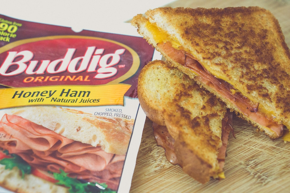 buddig meal makers grilled ham and cheese