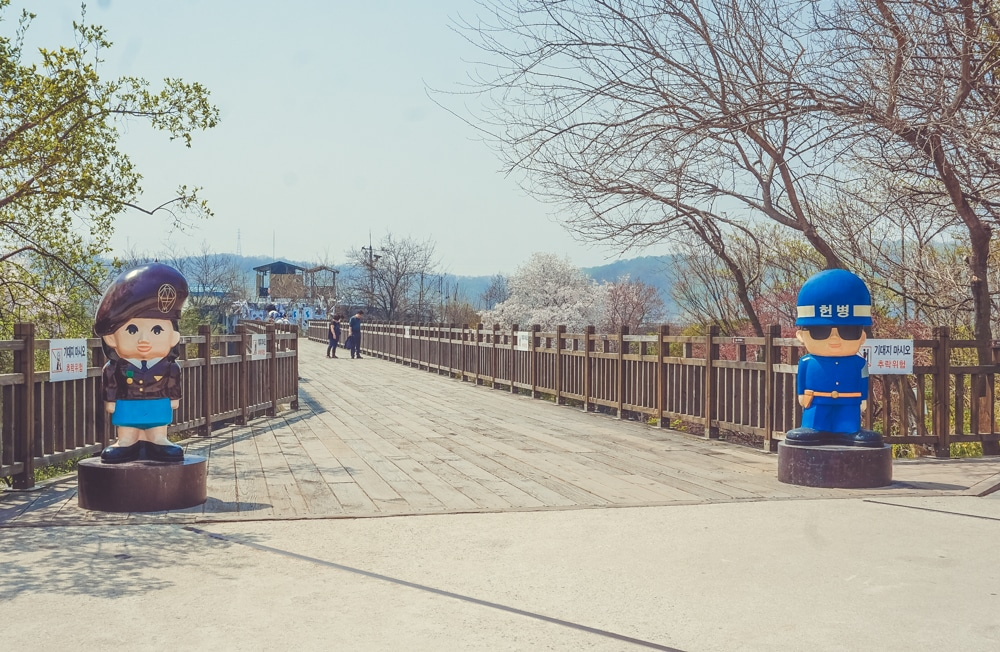dmz south korea freedom bridge