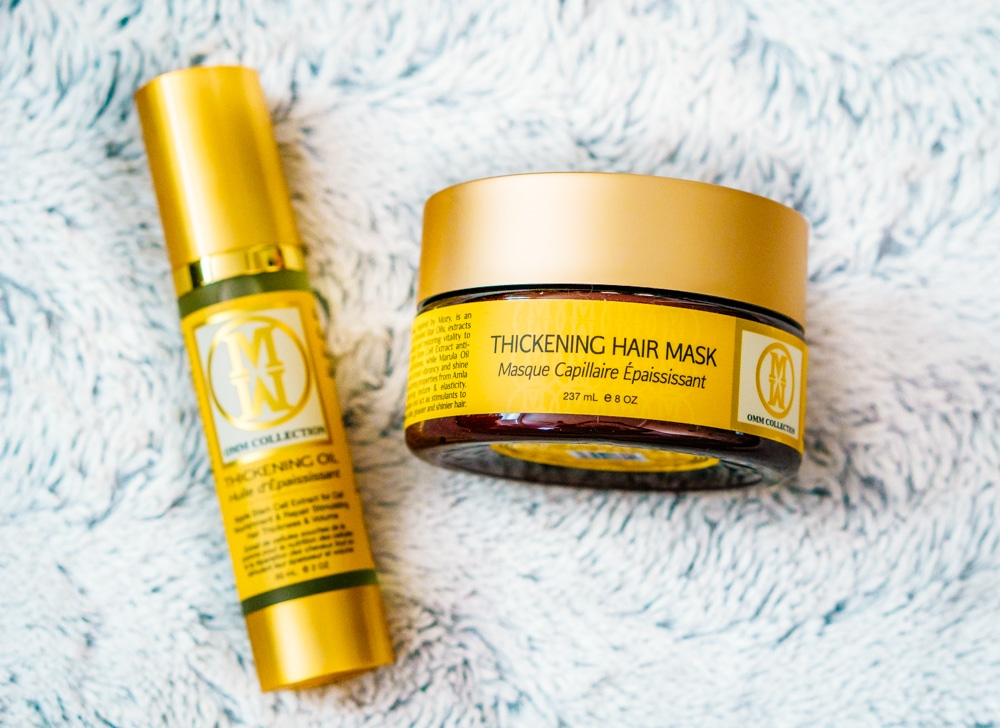 OMM: Thickening Hair Mask & Thickening Oil