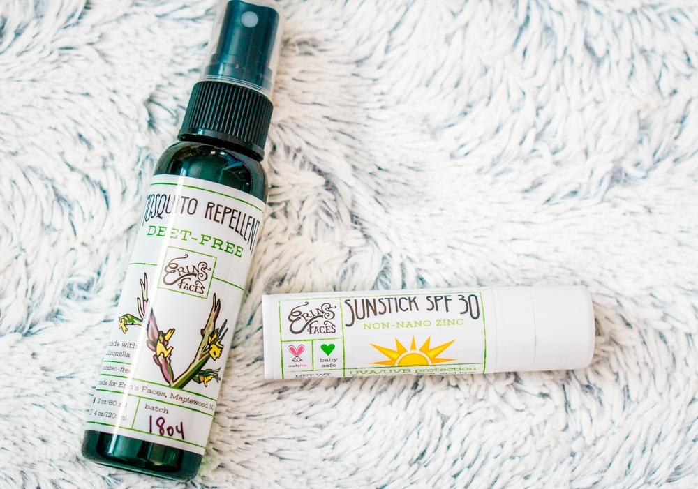 Erin's Faces: Deet Free Mosquito Repellent & Sunstick SPF 30