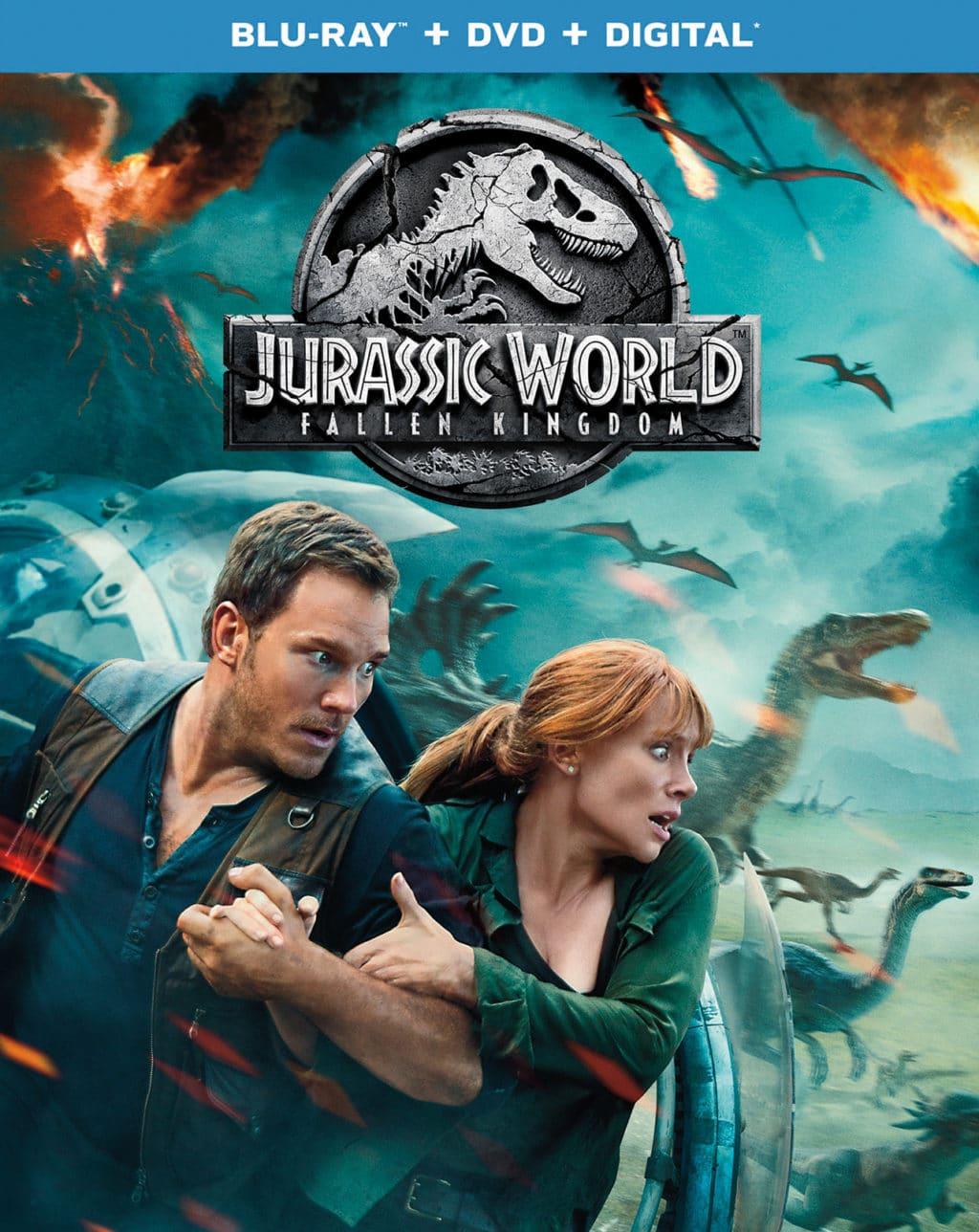 Jurassic World Fallen Kingdom DVD Release Dates