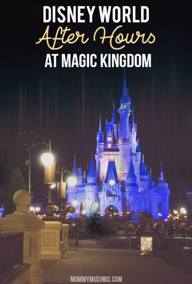 disney world after hours magic kingdom
