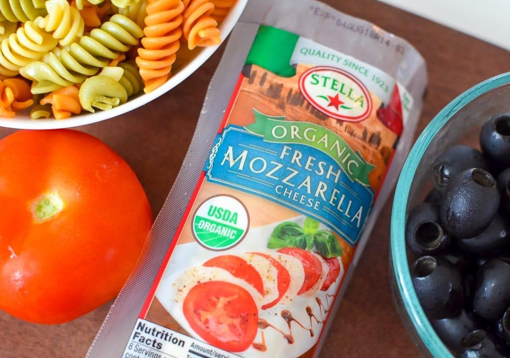 stella fresh mozzarella Italian Pasta Salad
