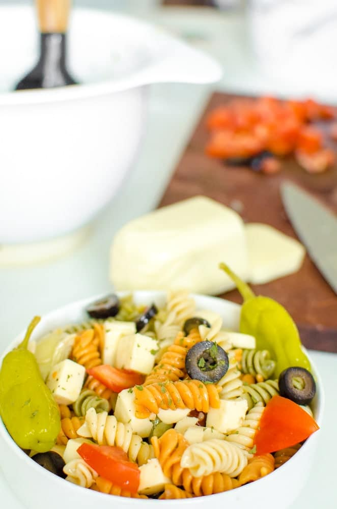 chilled Italian Pasta Salad recipe