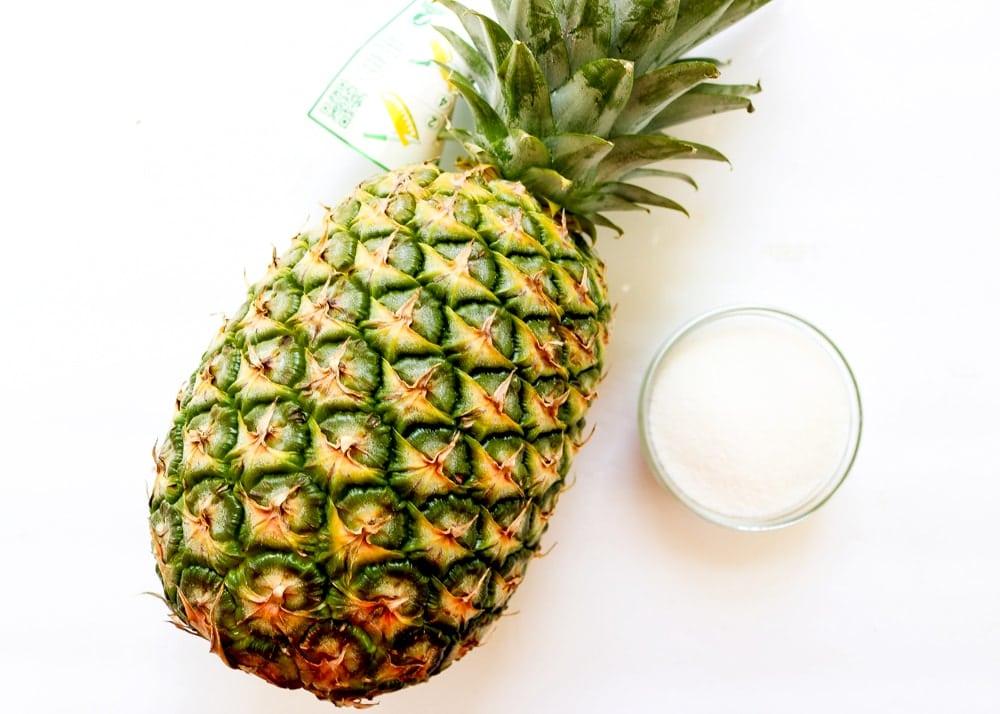 Pineapple Sorbet Ingredients