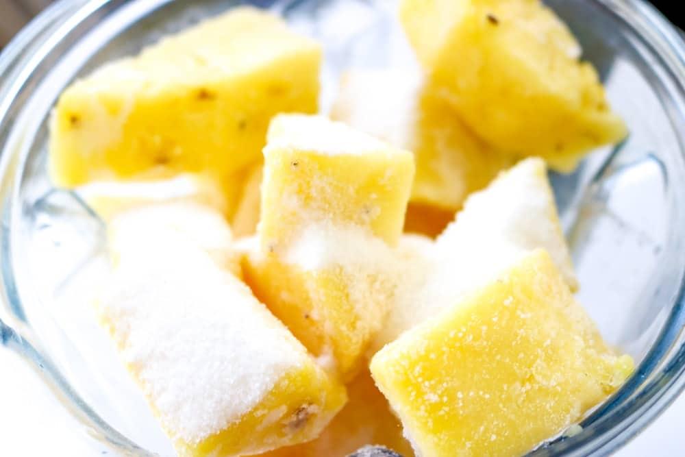pineapple sorbet vitamix