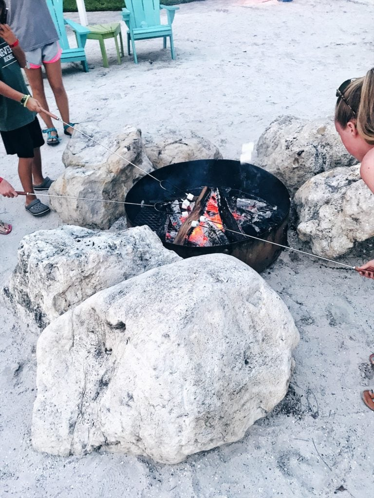 tradewinds resort s'mores