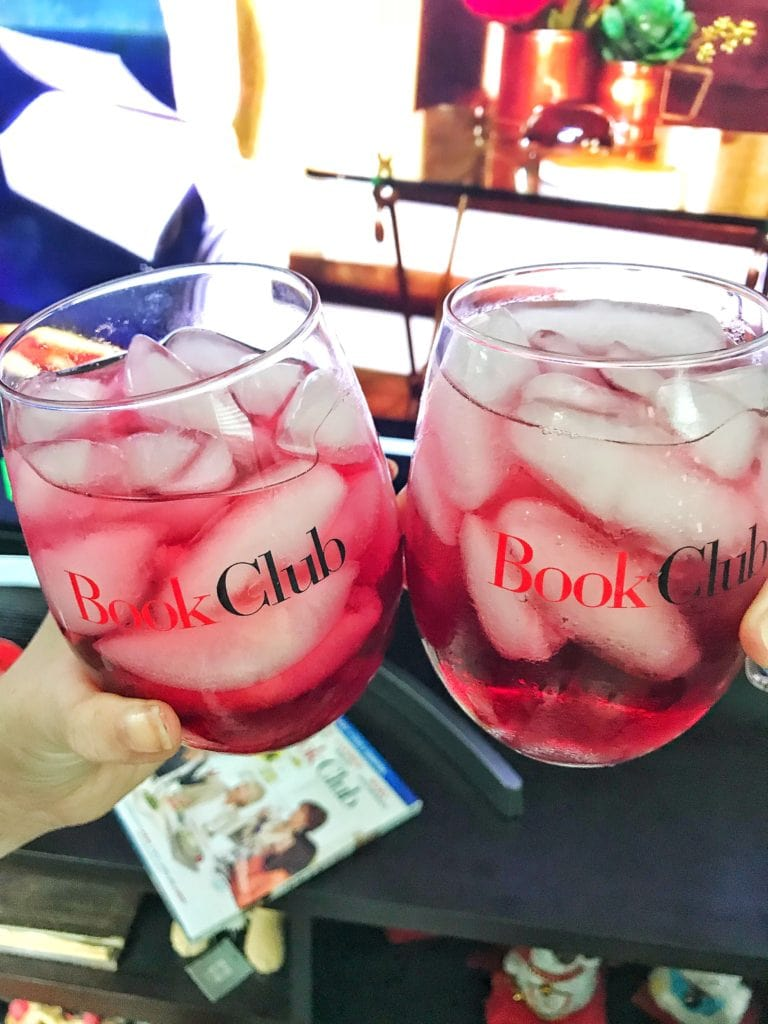 Book Club girls' night in