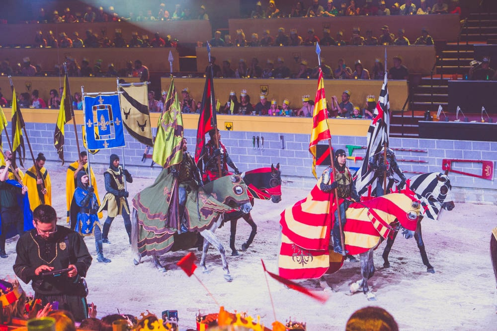 medieval times orlando dinner show knights
