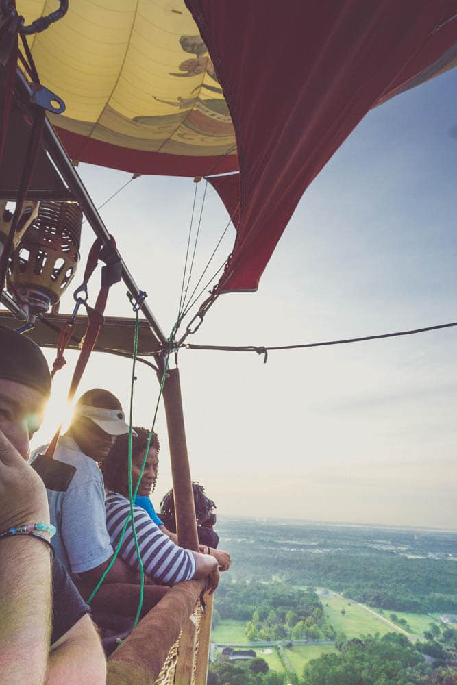 hot air balloon ride orlando florida