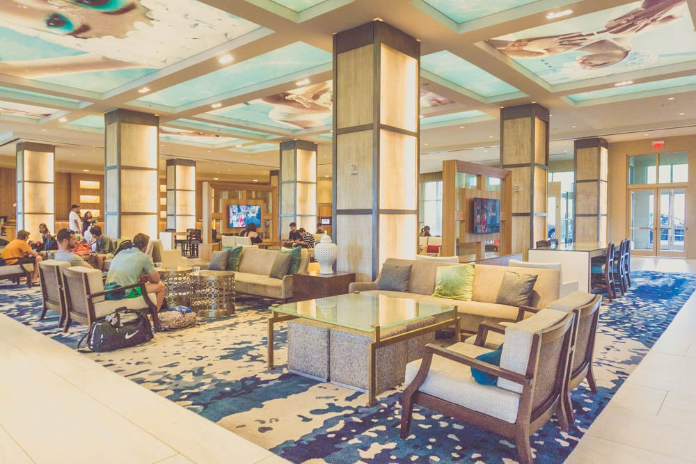 hilton bonnet creek lobby