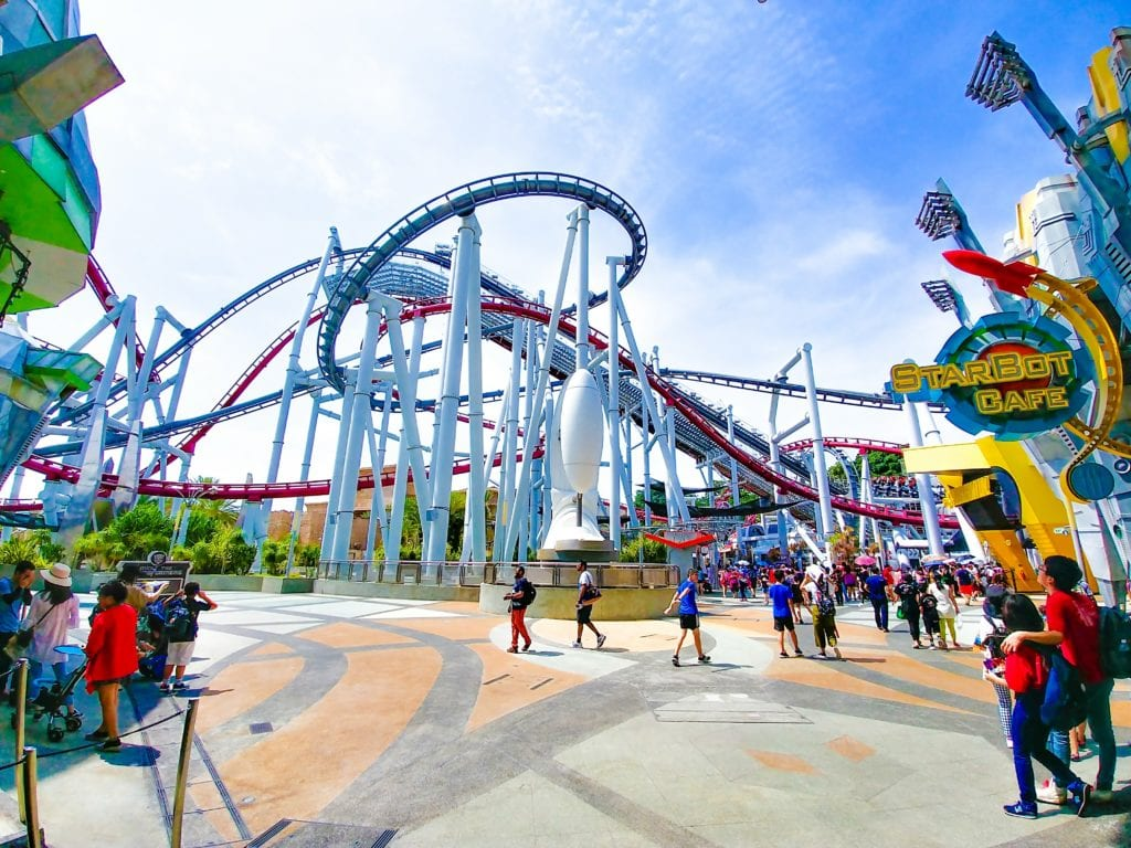 theme park family travel