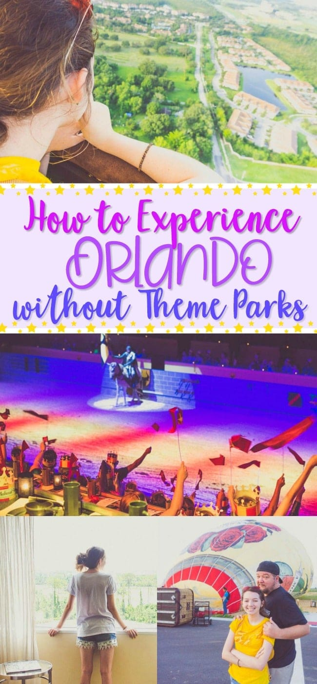 how to experience orlando without theme parks