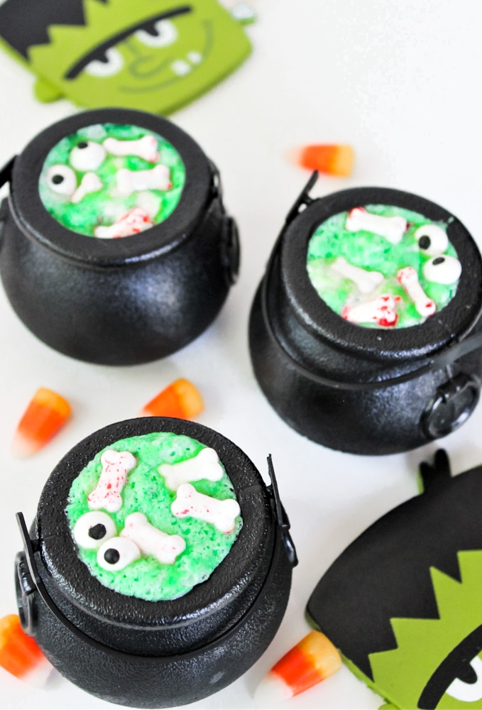 Jello Witches Brew Cauldron