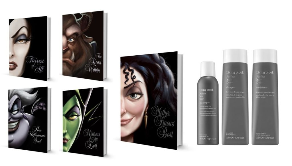 "Disney Villains Book Series Sephora ""Perfect Hair Day"" bundle pack"