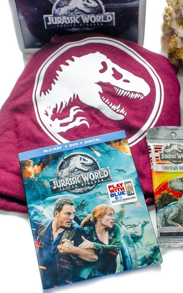 Jurassic Park: Fallen Kingdom blu-ray