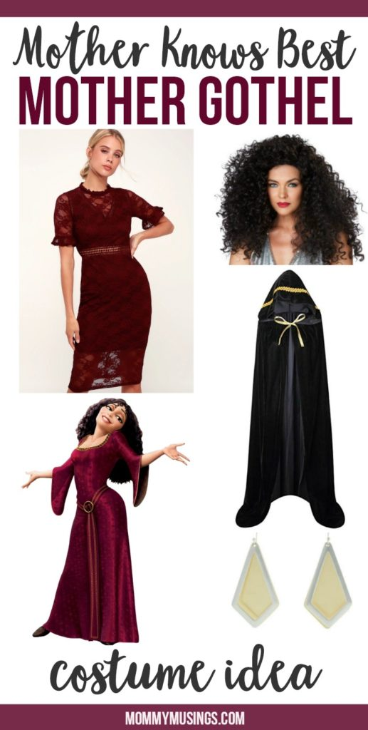 mother gothel costume idea