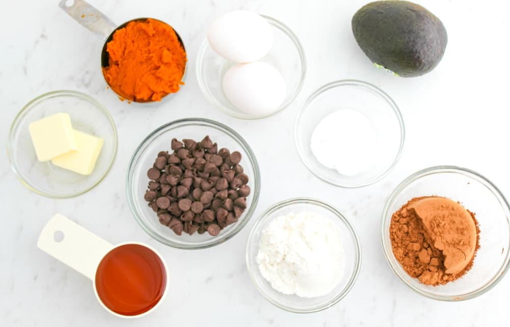 Chocolate Pumpkin Muffins Ingredients