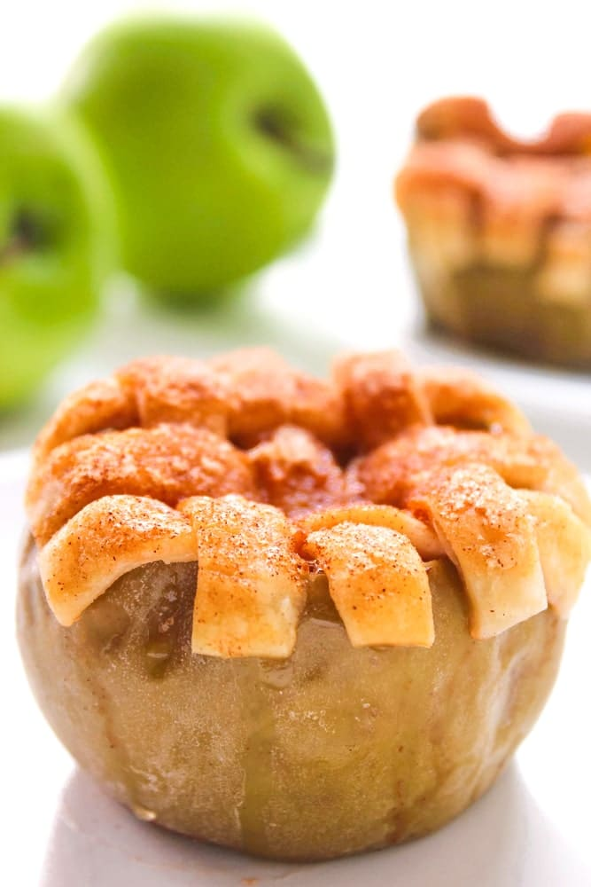 Delicious Fall Dessert Apple Pie Stuffed Apples