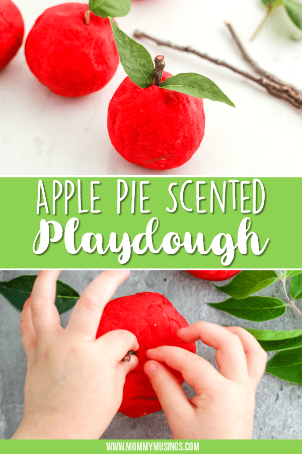 Apple Playdough Recipe