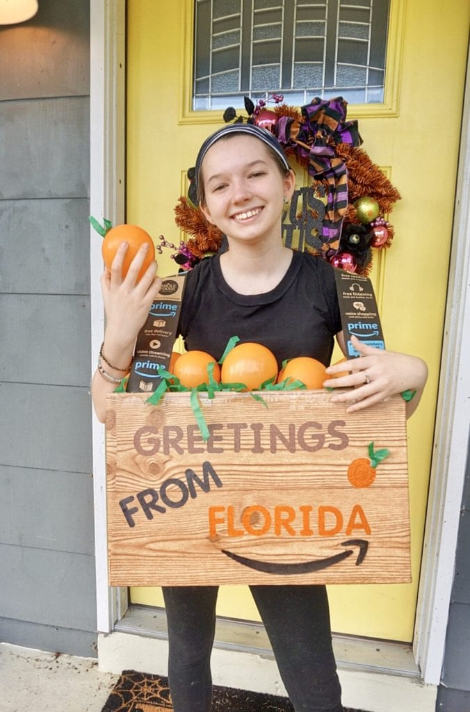 florida oranges halloween costume diy