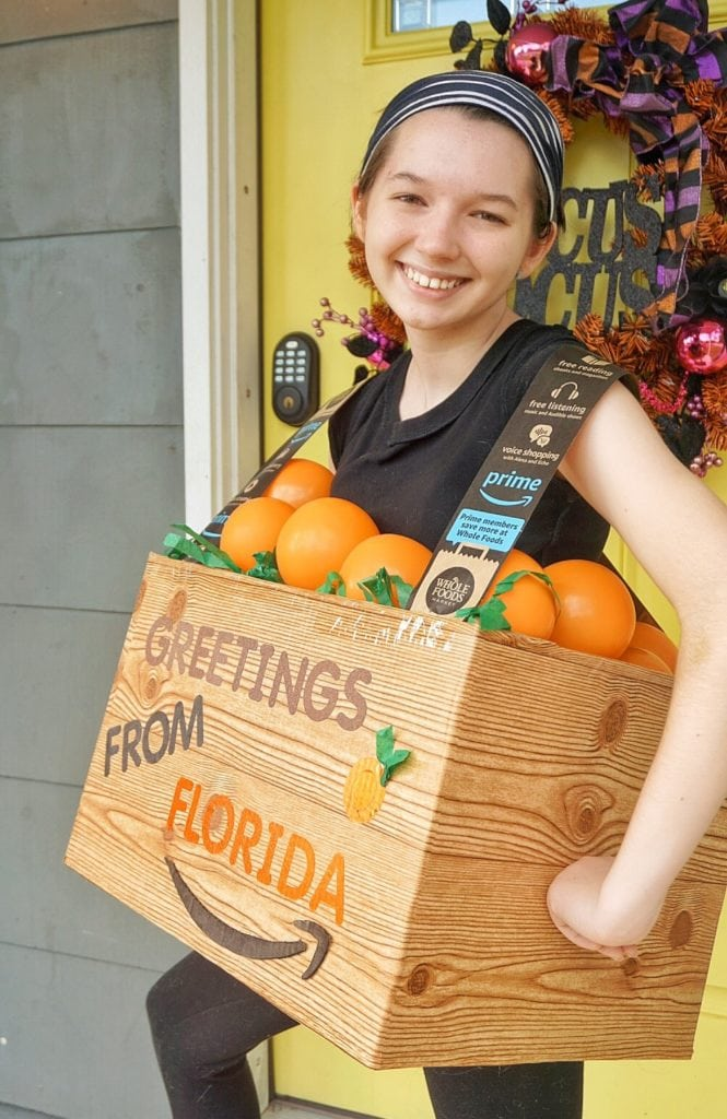 Crate of Florida Oranges Boxtume