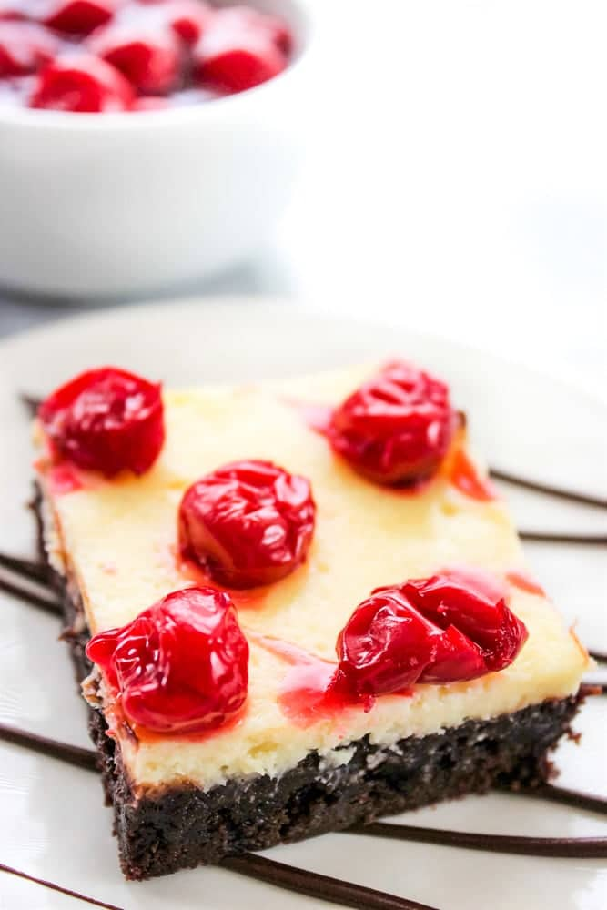 brownie cherry cheesecake recipe