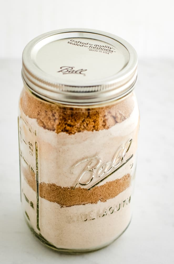 cookie mix in a jar gift