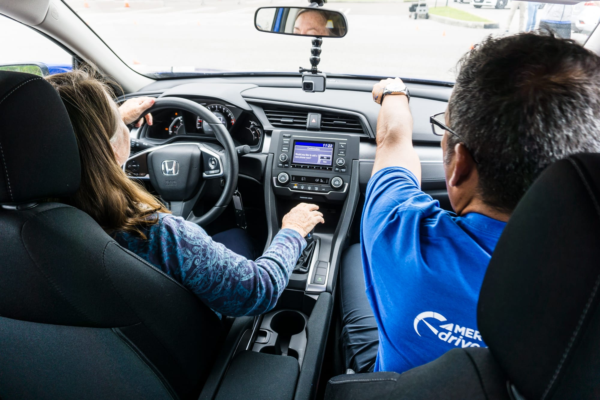 proffesional driving instructor Mercury Insurance Drive Safe Challenge