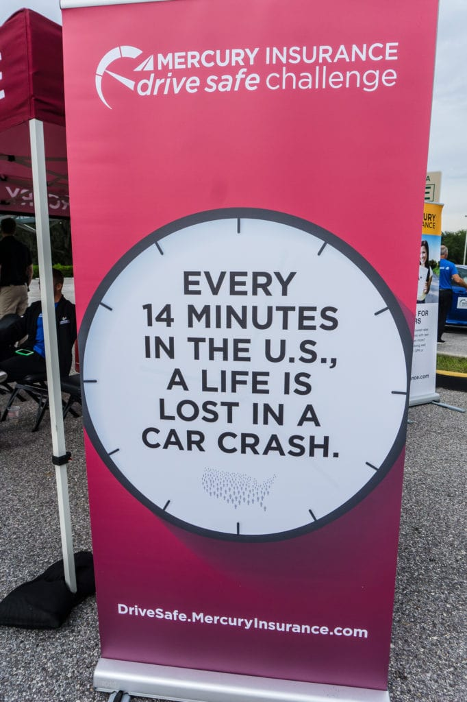 Mercury Insurance Drive Safe Challenge Statistic