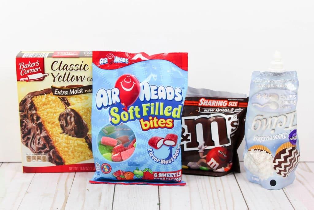Mistletoe Cupcakes Ingredients