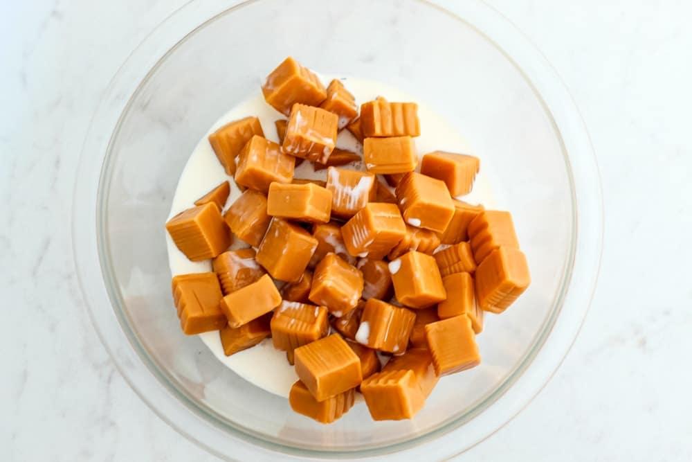 Salted Caramel Chocolate Pie
