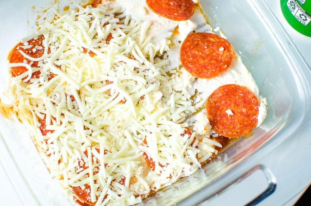 how to make pizza lasagna