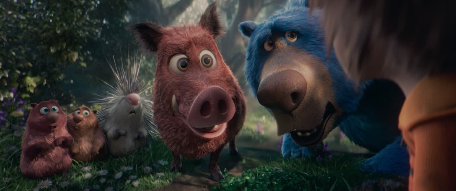 wonder park animals